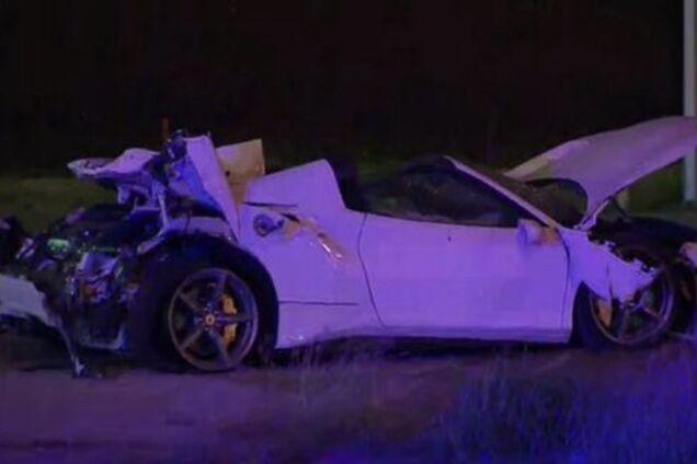Ferrari Спенса после аварии