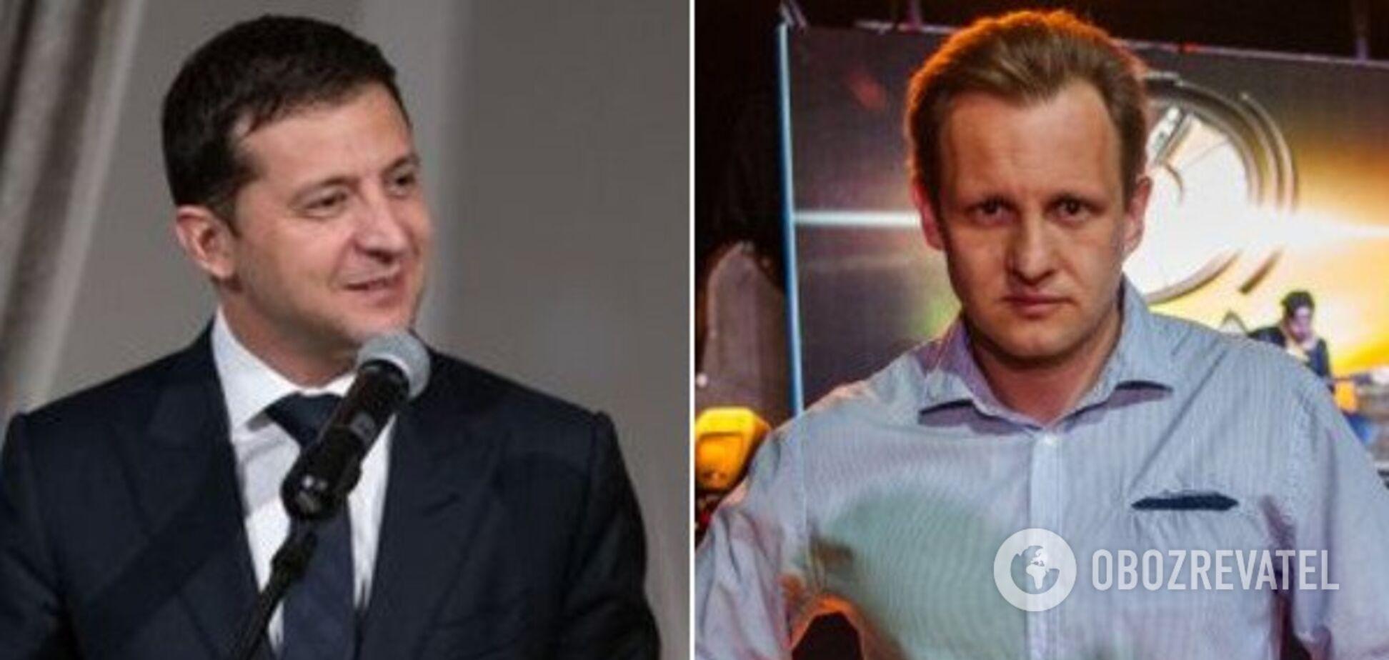 Владимир Зеленский и Александр Андросов