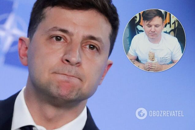 Владимир Зеленский и Алекс Купер