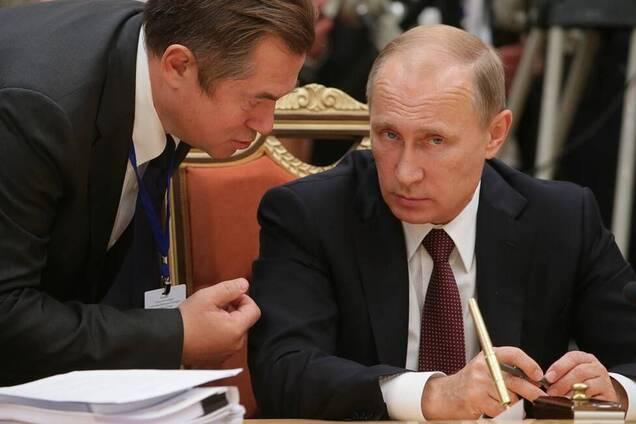 Глазьєв і Путін