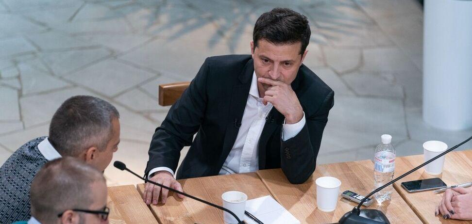 <strong>'Не говорить про перемогу'</strong>: Зеленському дорікнули за меседж щодо Донбасу