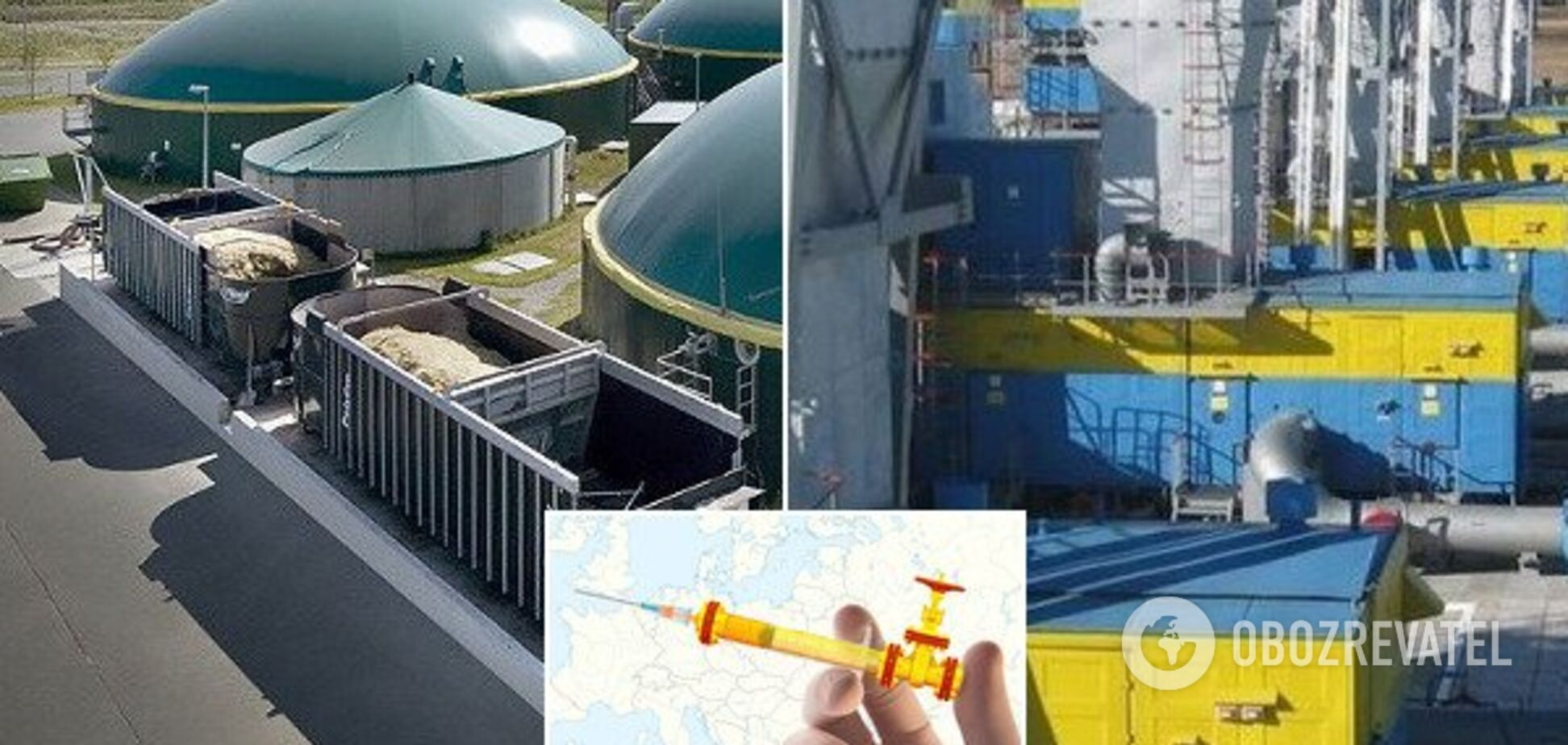 Слезть с российской газовой иглы: как в Украине строят самые большие биогазовые станции в мире