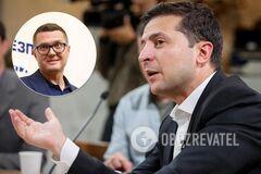 Зеленский пригрозил Баканову увольнением