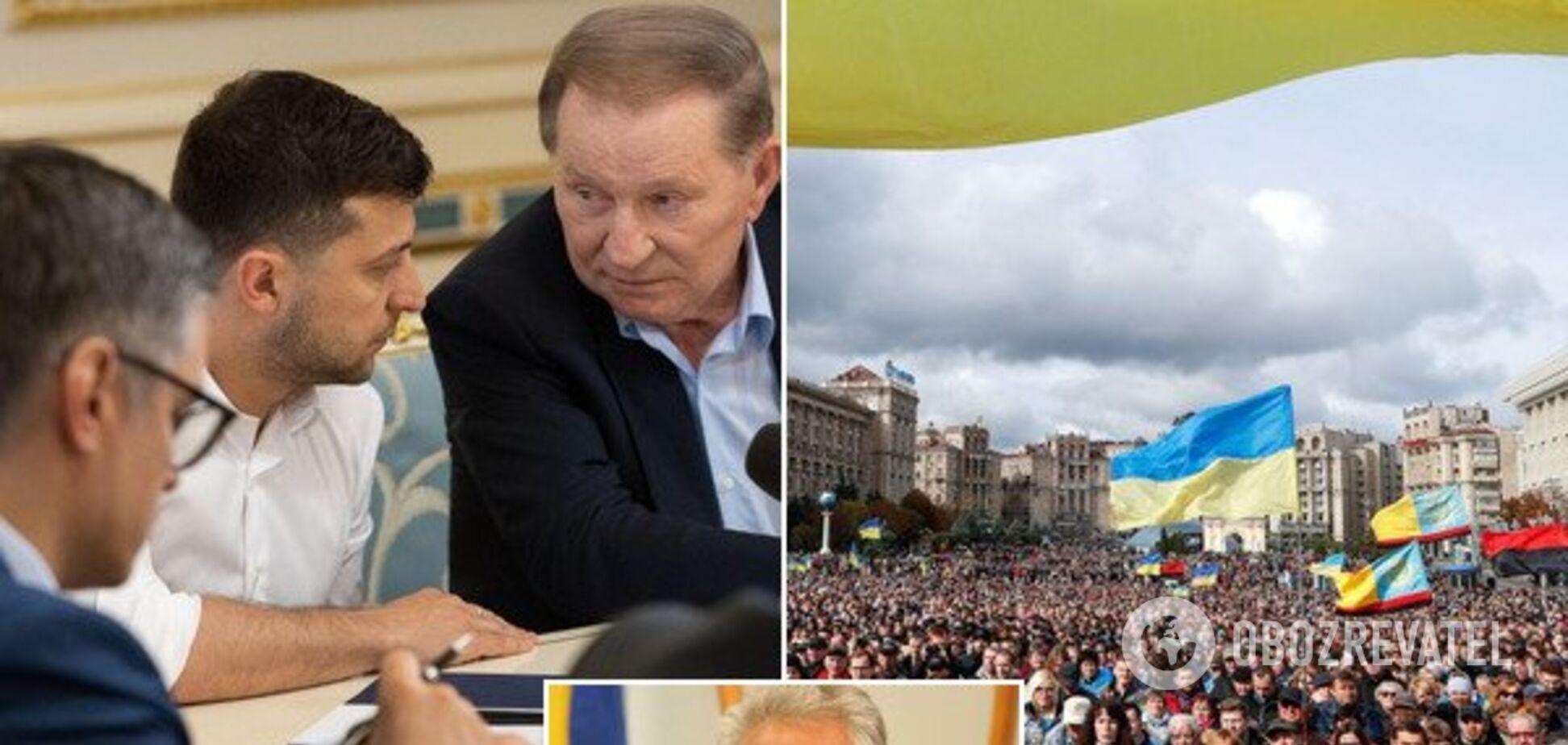Живемо за принципом 'якось воно буде': Жебрівський про курс України і мир на Донбасі