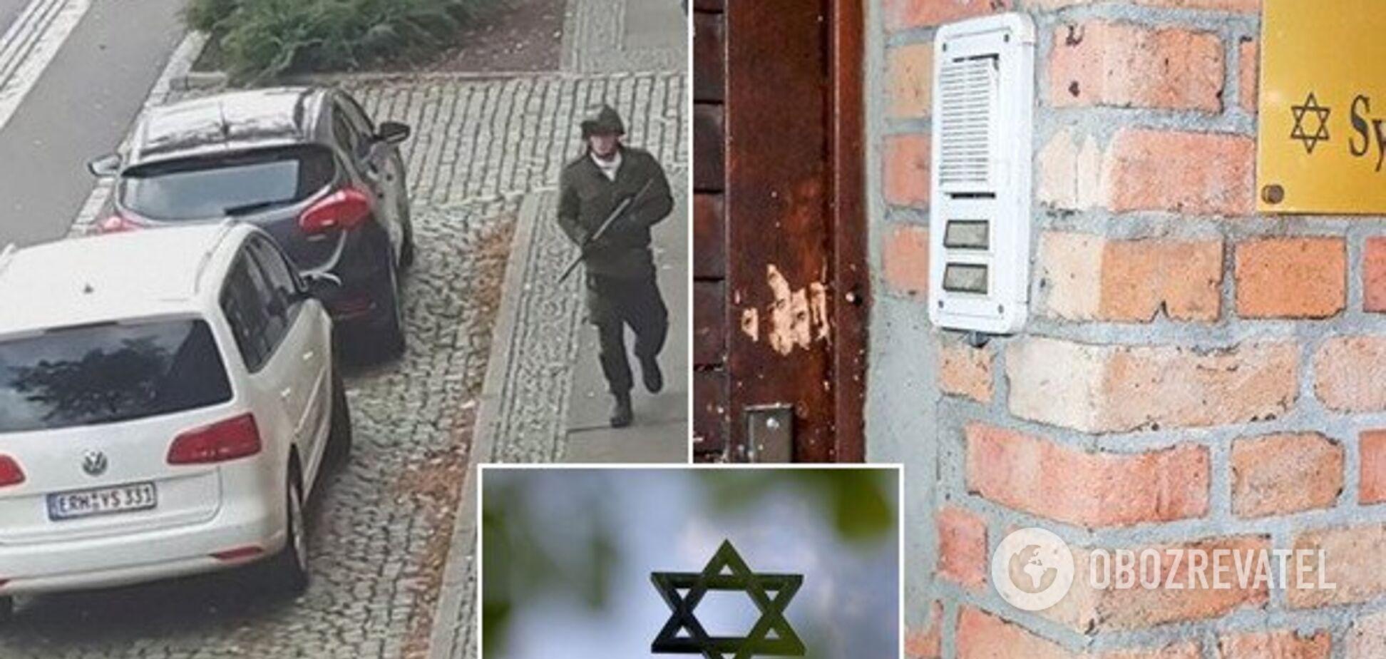 Вбивав і вів трансляцію: що відомо про звірячий напад на синагогу у Німеччині
