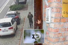<strong>Убивал и вел трансляцию</strong>: что известно о зверском нападении на синагогу в Германии
