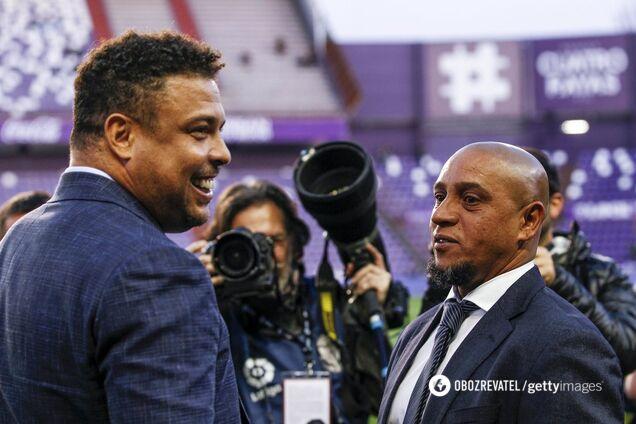 Роналдо і Роберто Карлос