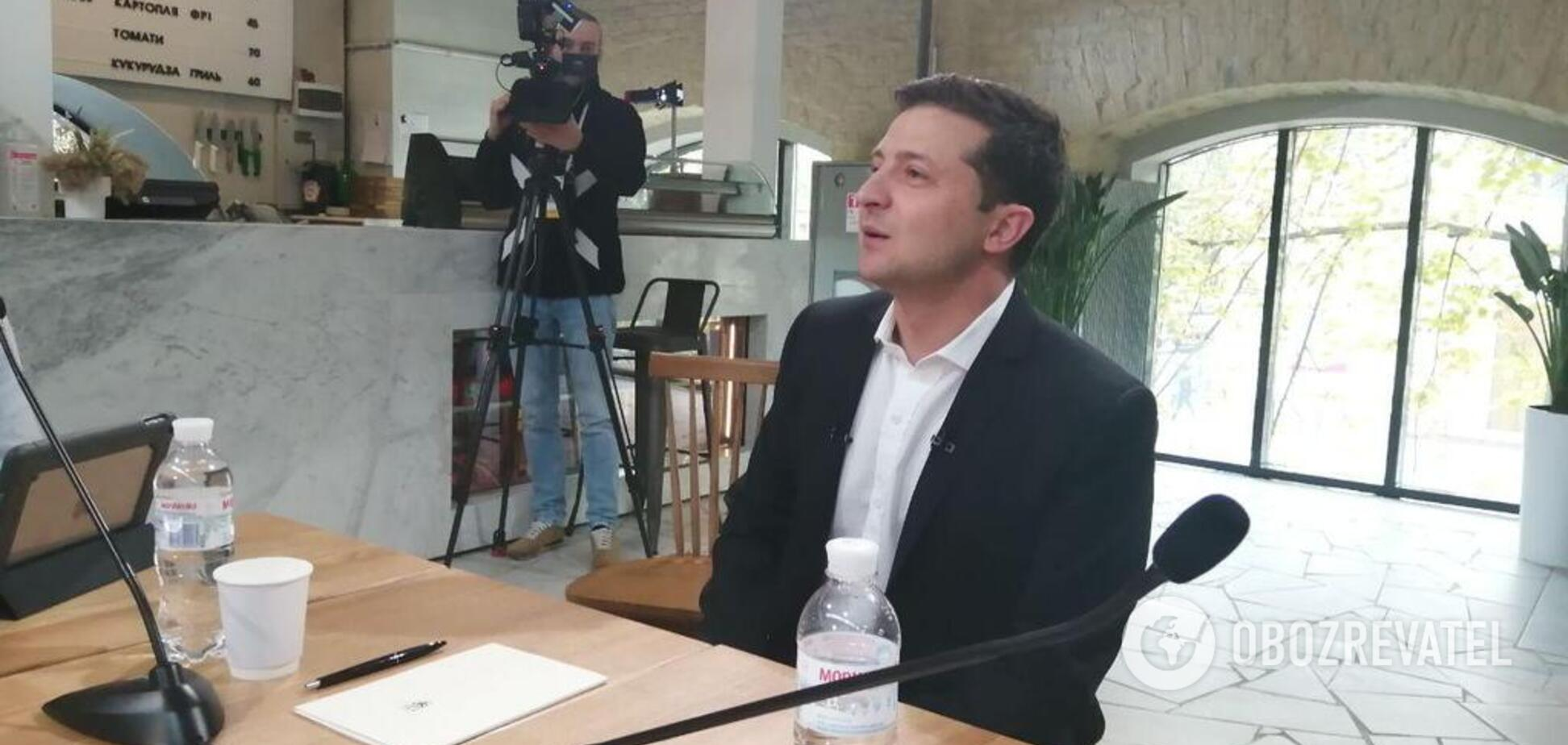 'Пока не известно!' Зеленский сделал заявление о войне на Донбассе