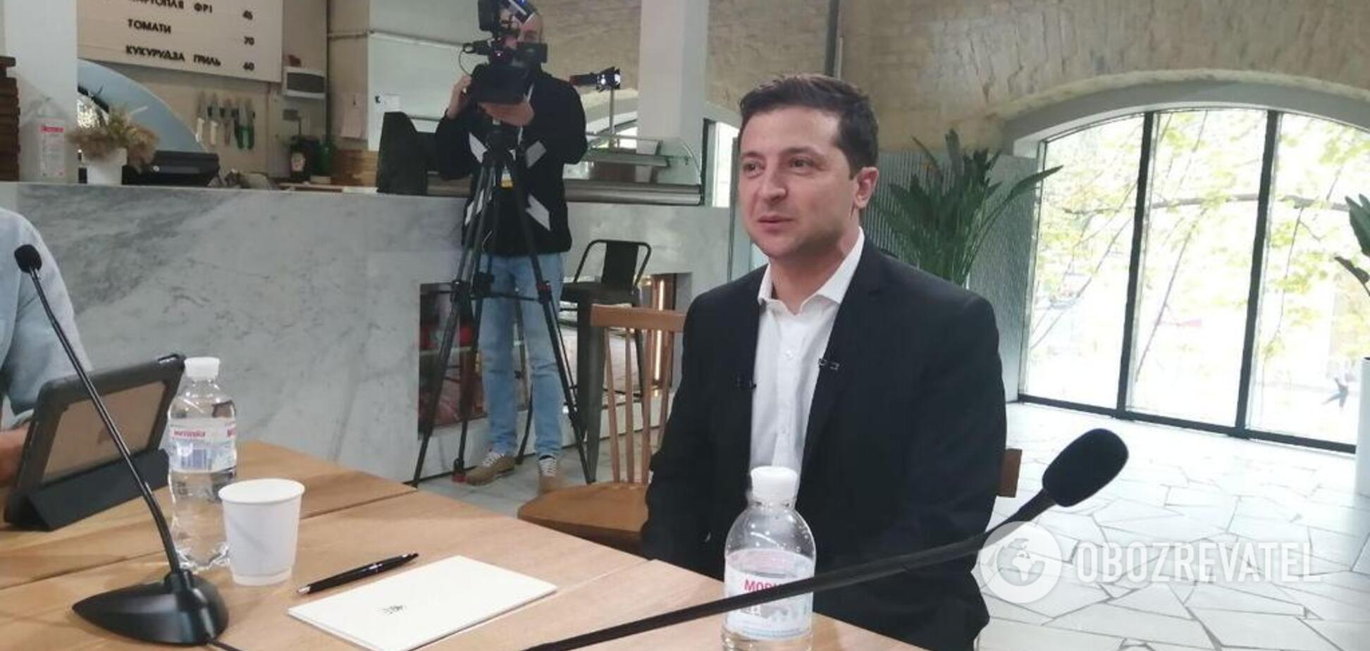 Есть три человека: Зеленский рассказал о своих кандидатах на пост главы КГГА