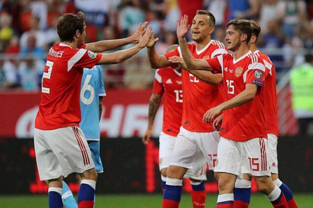 Сборная России разгромно победила в отборе Евро-2020