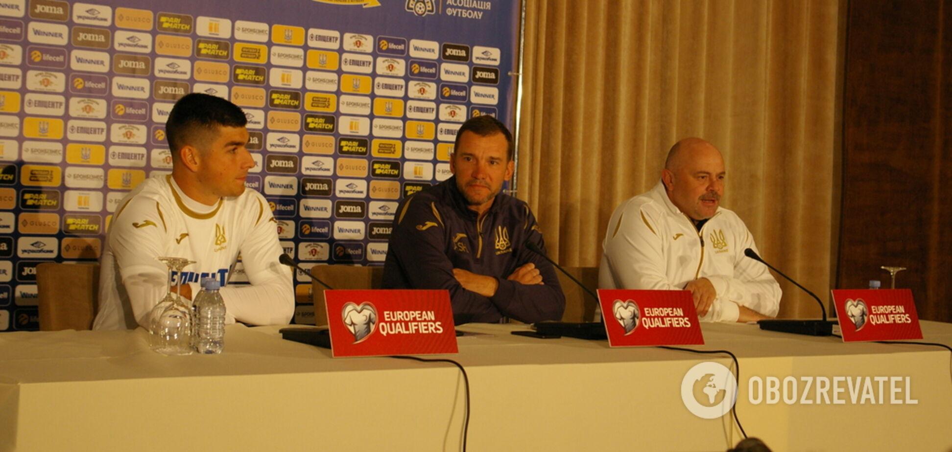 'Я не согласен': Шевченко категорично ответил СМИ перед матчем с Литвой