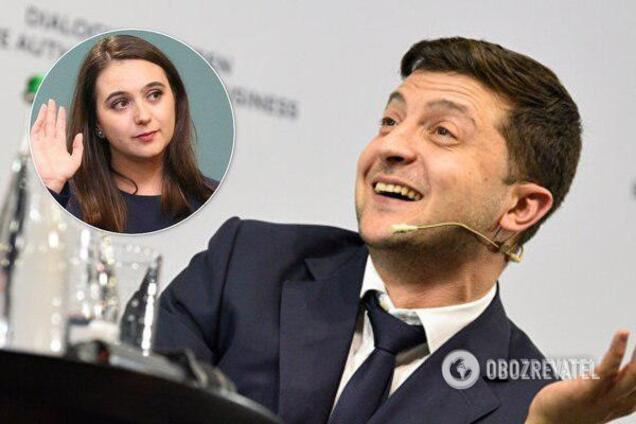 Зарплата пресс-секретаря президента Украины Юлии Мендель по итогам января 2020 года составила 52,5 тыс. гривен
