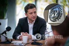Володимир Зеленський і МВФ