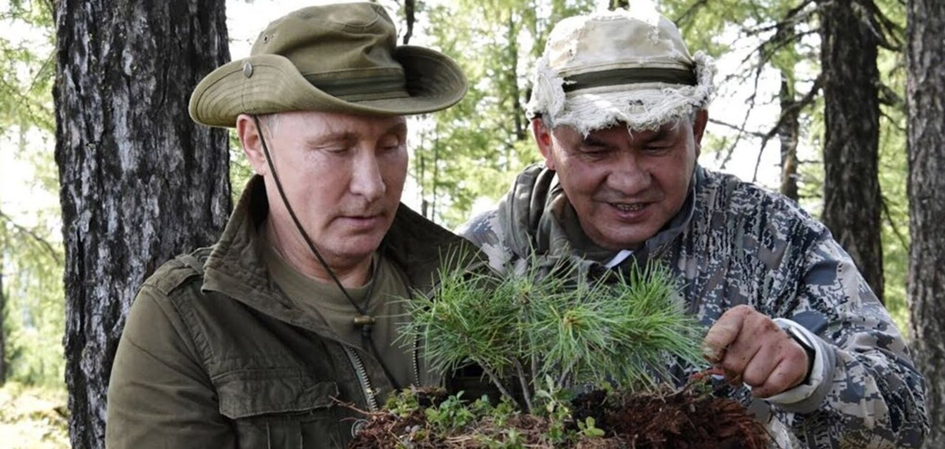 'Шойгу в кадр не ввійшов!' Шнуров їдко висміяв розваги Путіна в тайзі