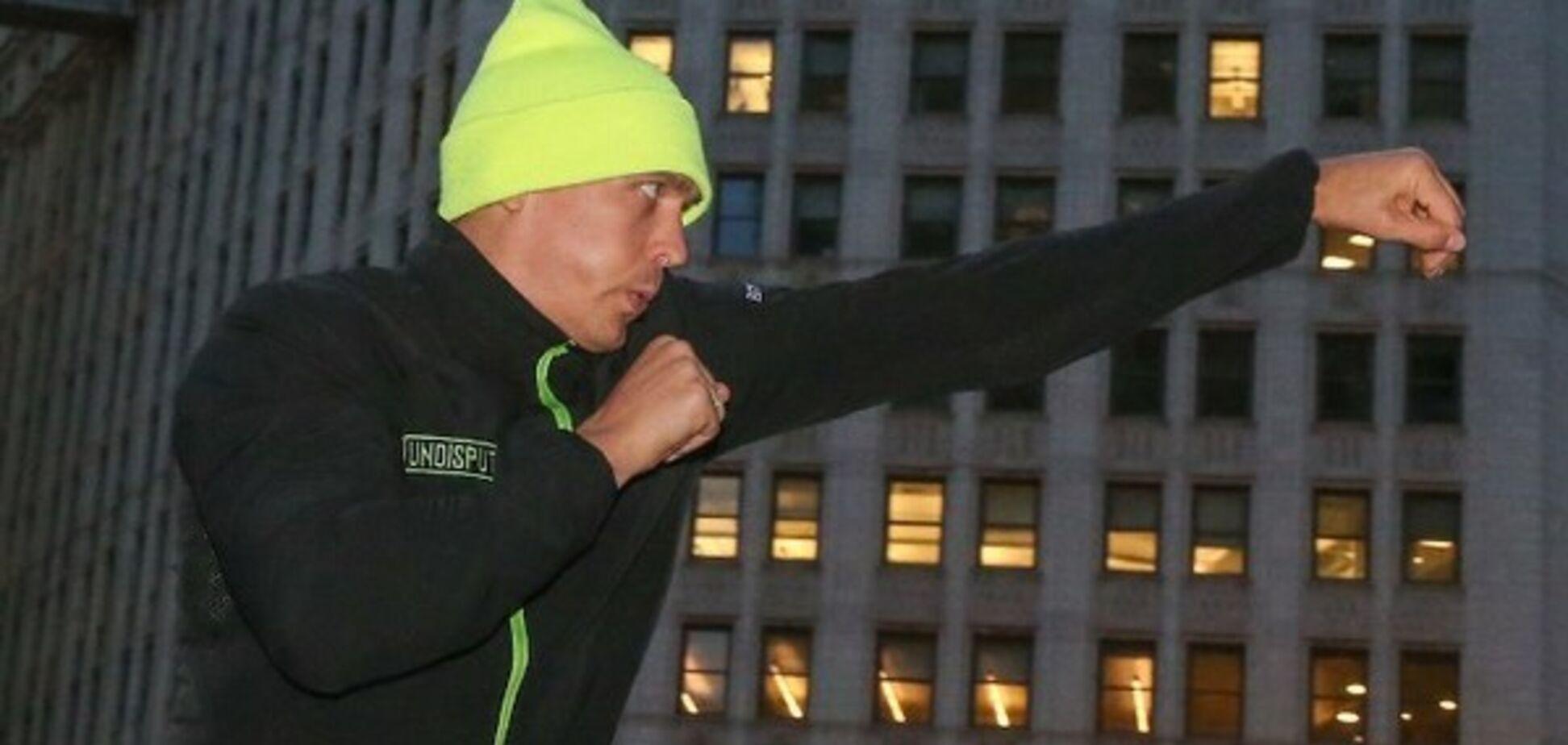'Пусть выйдет': Усик мощно ответил критикам перед боем с Уизерспуном