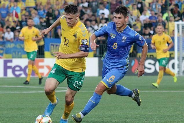Украина не должна испытывать трудностей в матче с Литвой