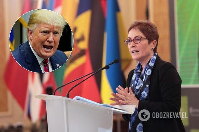 Йованович заявила о давлении Трампа