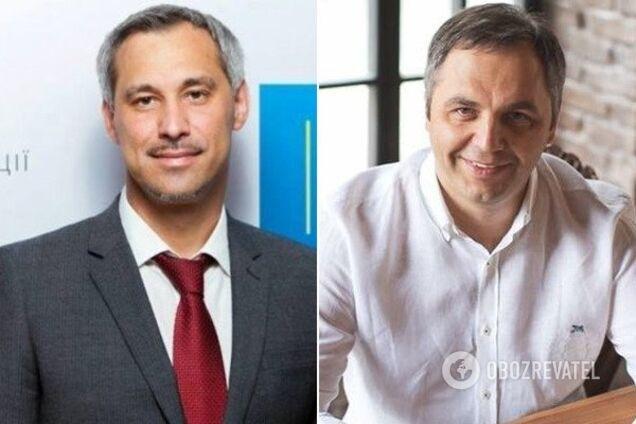 Руслан Рябошапка та Андрій Портнов