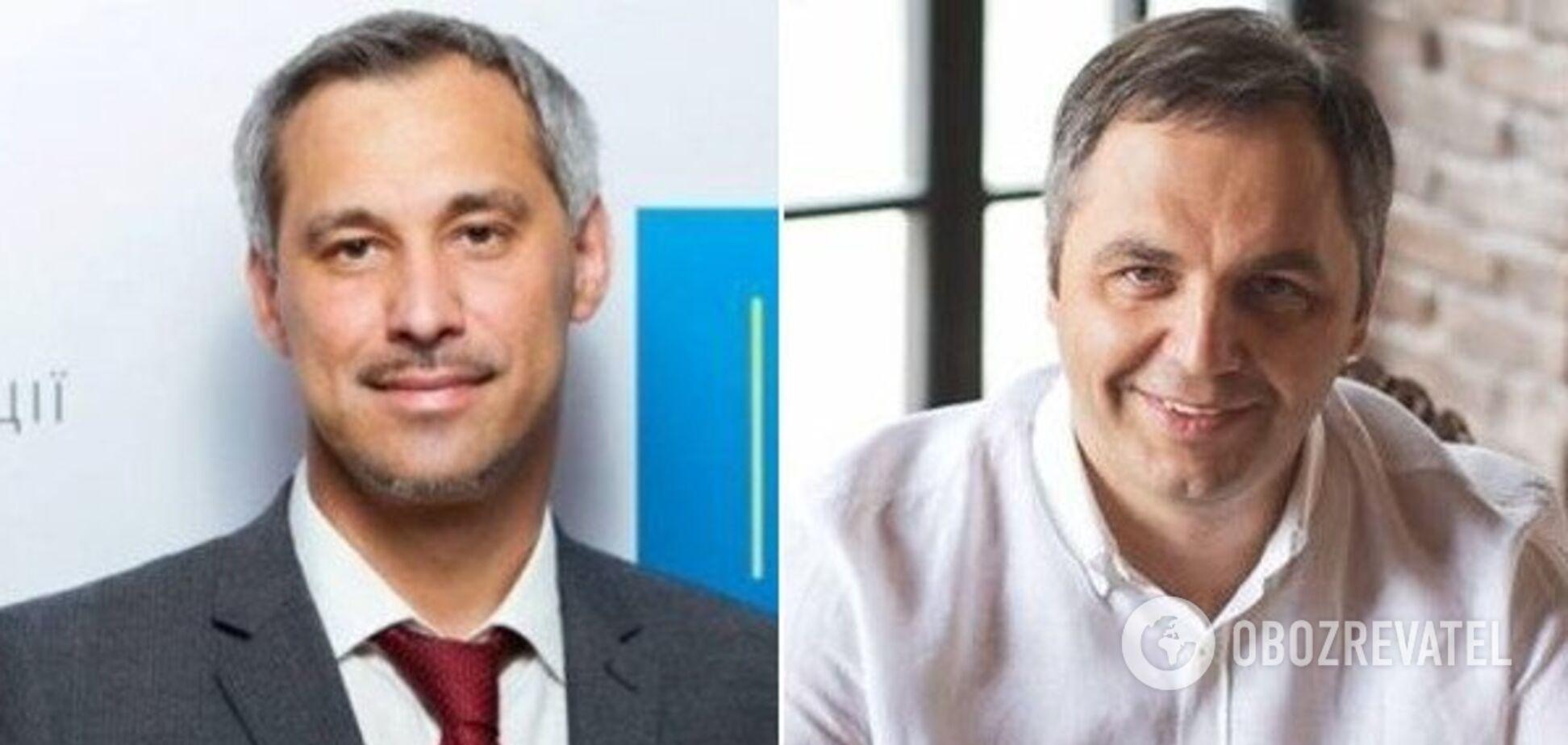 Руслан Рябошапка и Андрей Портнов