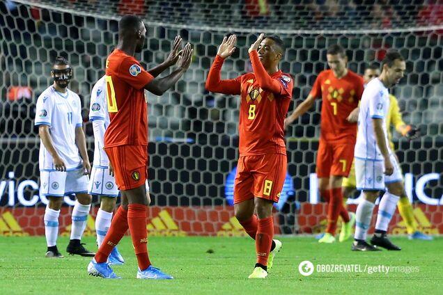 Бельгія — Сан-Марино — 9:0