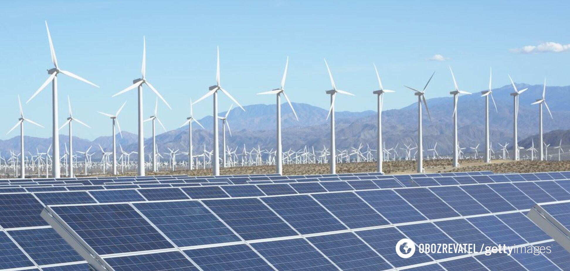 Відновлювальні джерела енергії в Україні зросли до 4,6 ГВт за 3 квартал 2019 року