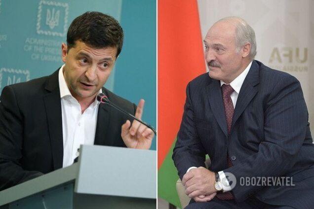 Володимир Зеленський і Олександр Лукашенко