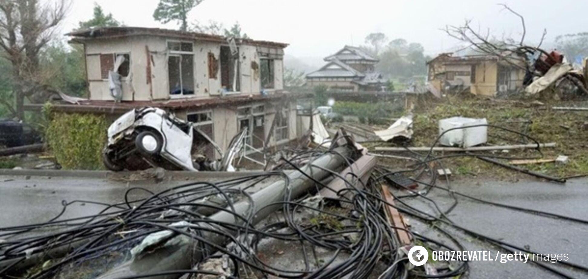 'Кінець світу!' На Японію звалився смертоносний тайфун: фото і відео наслідків