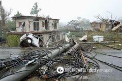 'Кінець світу!' На Японію звалився <strong>смертоносний тайфун:</strong> фото і відео наслідків