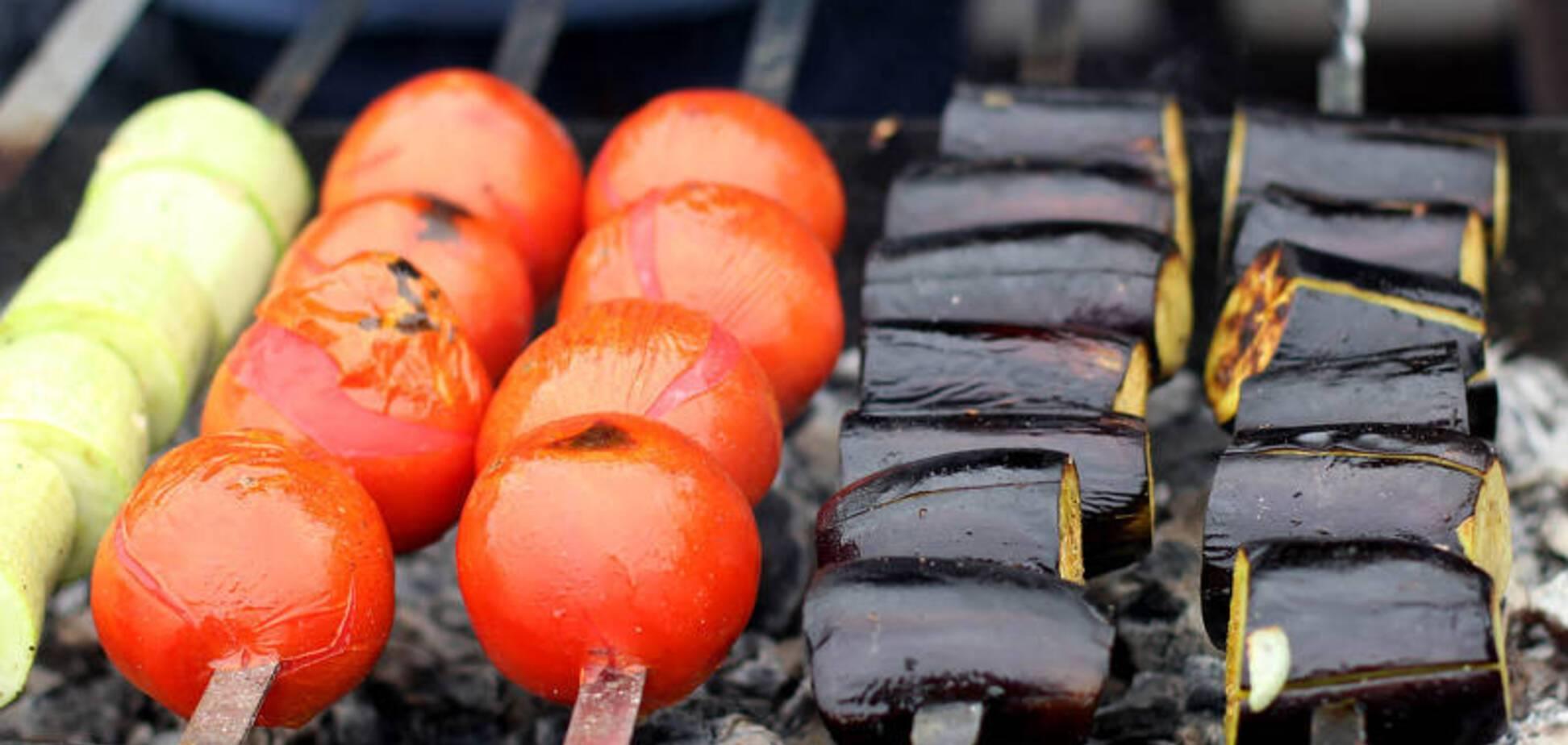 Рецепт дуже смачного маринаду для овочів на мангалі