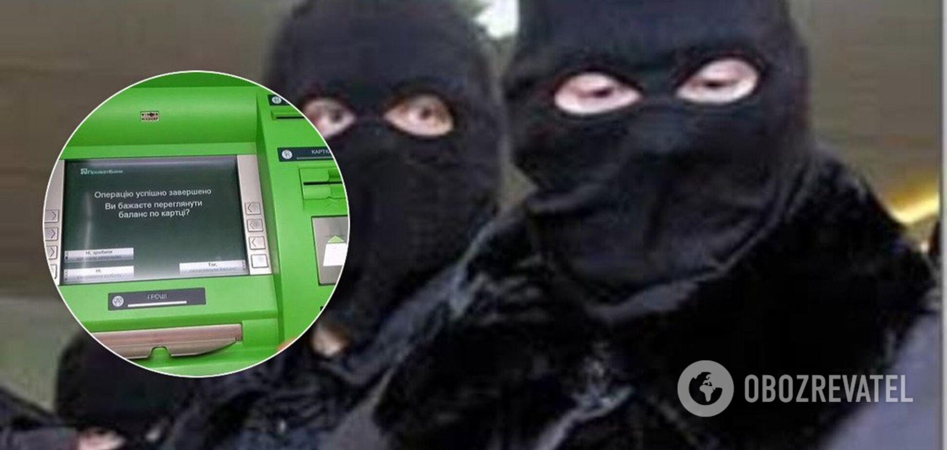 У Києві стався вибух біля банку: поліція почала розшук злочинців