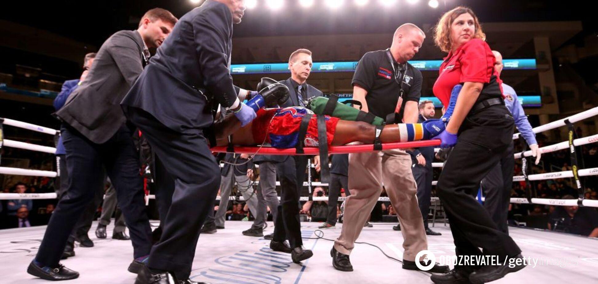 Вечір боксу Усик - Візерспун: американський боксер після нокауту впав у кому