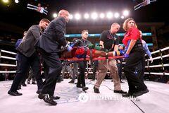 <strong>Вечір боксу Усик - Візерспун:</strong> американський боксер після нокауту впав у кому