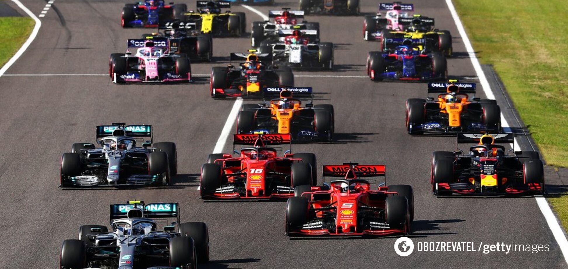 Пілот Ferrari вибив конкурента з траси на Гран-прі Японії - опубліковано відео