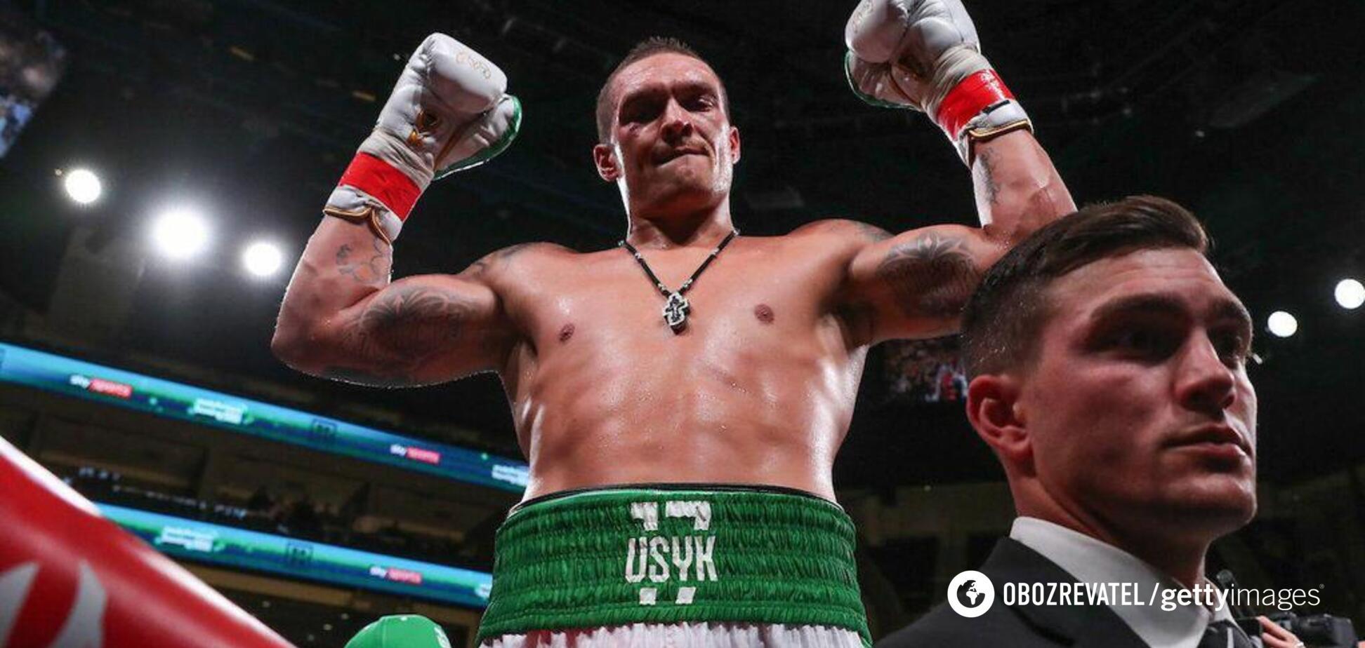 Лишь один бой: WBC принял громкое решение по Усику в супертяжах