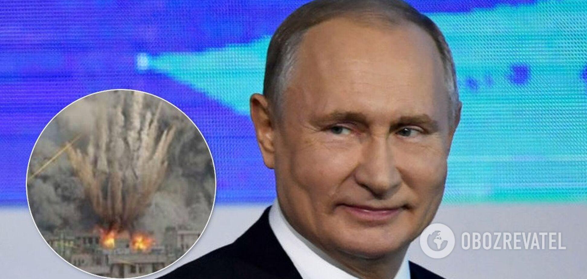 Суперзброя, загроза НАТО й Трамп: про що говорив Путін із журналістами