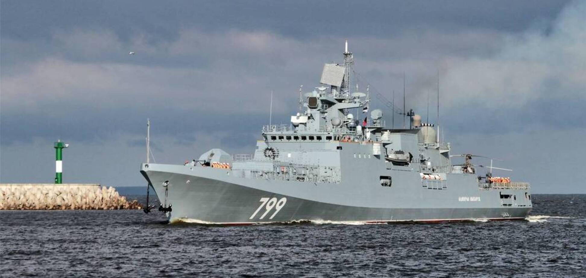 Росія відкрила вогонь з потужної зброї в Середземномор'ї