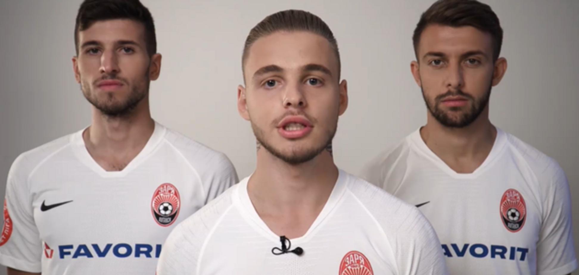 'Повертайся живим!' Українські футболісти записали зворушливе відео