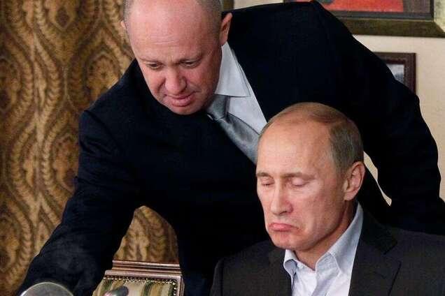 Євген Пригожин і Володимир Путін