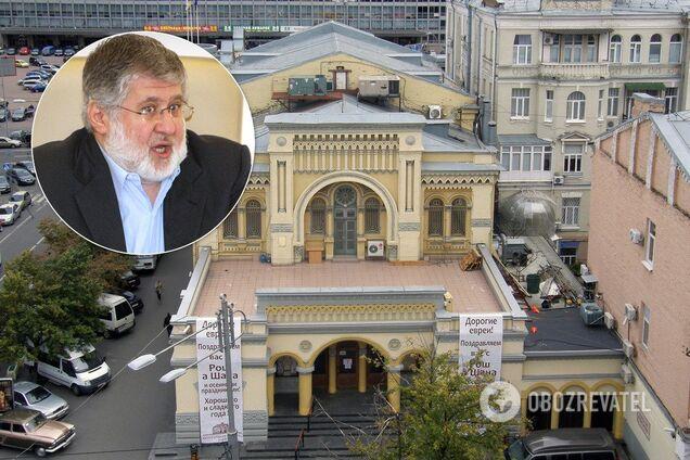 У Києві під синагогу підкинули опудало Коломойського