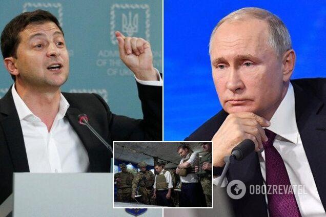 Зеленский и Путин, иллюстрация