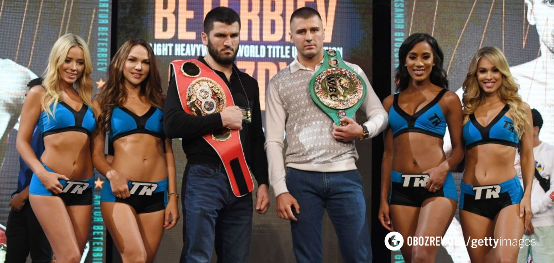 Гвоздик – Бетербієв: букмекери несподівано змінили котирування на чемпіонський бій