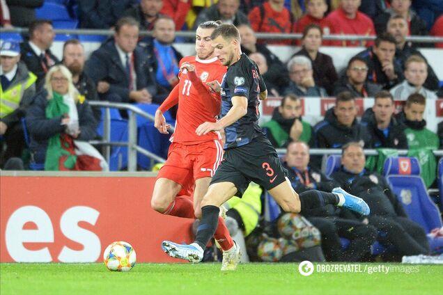 Уэльс - Хорватия - 1:1