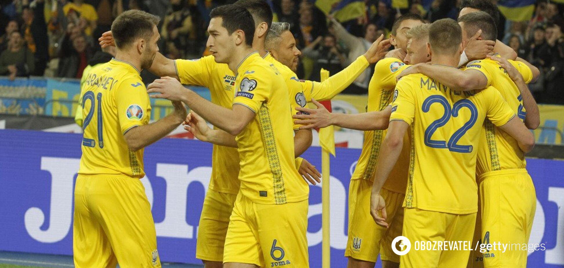 Украина прибила Португалию и с первого места вышла на Евро-2020
