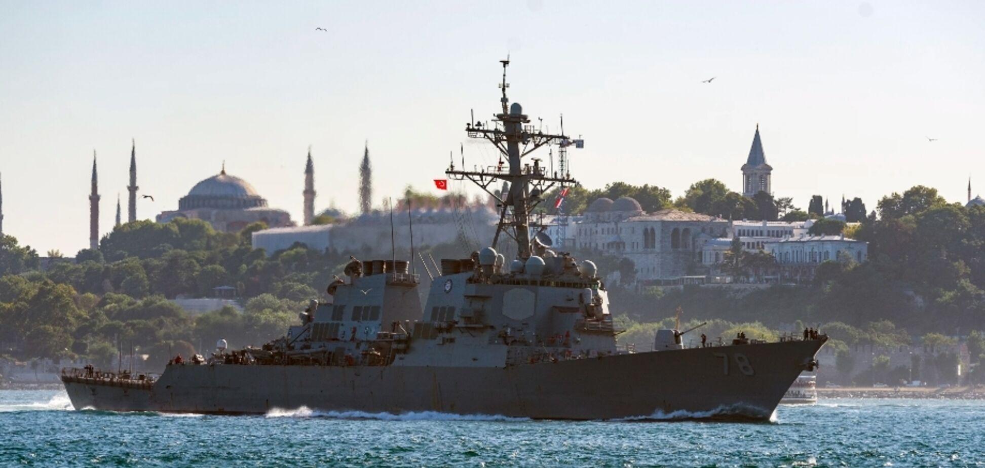 США надіслали в Україну потужний есмінець: що сталося