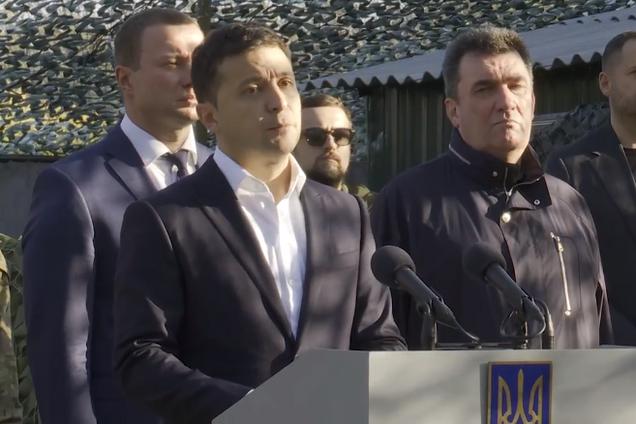 Зеленський потужно виступив перед військовими на Донбасі