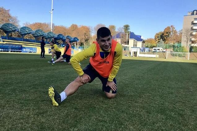 Збірна України готова до матчу з Португалією
