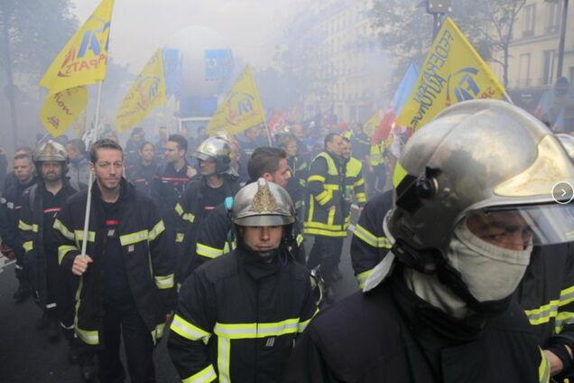 Протест у Парижі