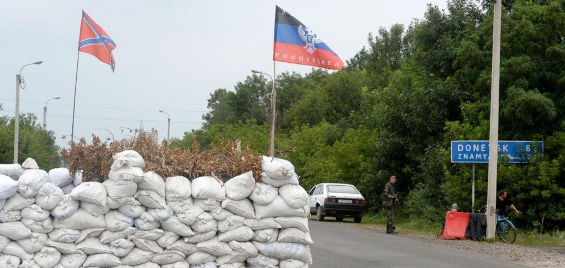 Террористы усилили контроль на границе с Украиной