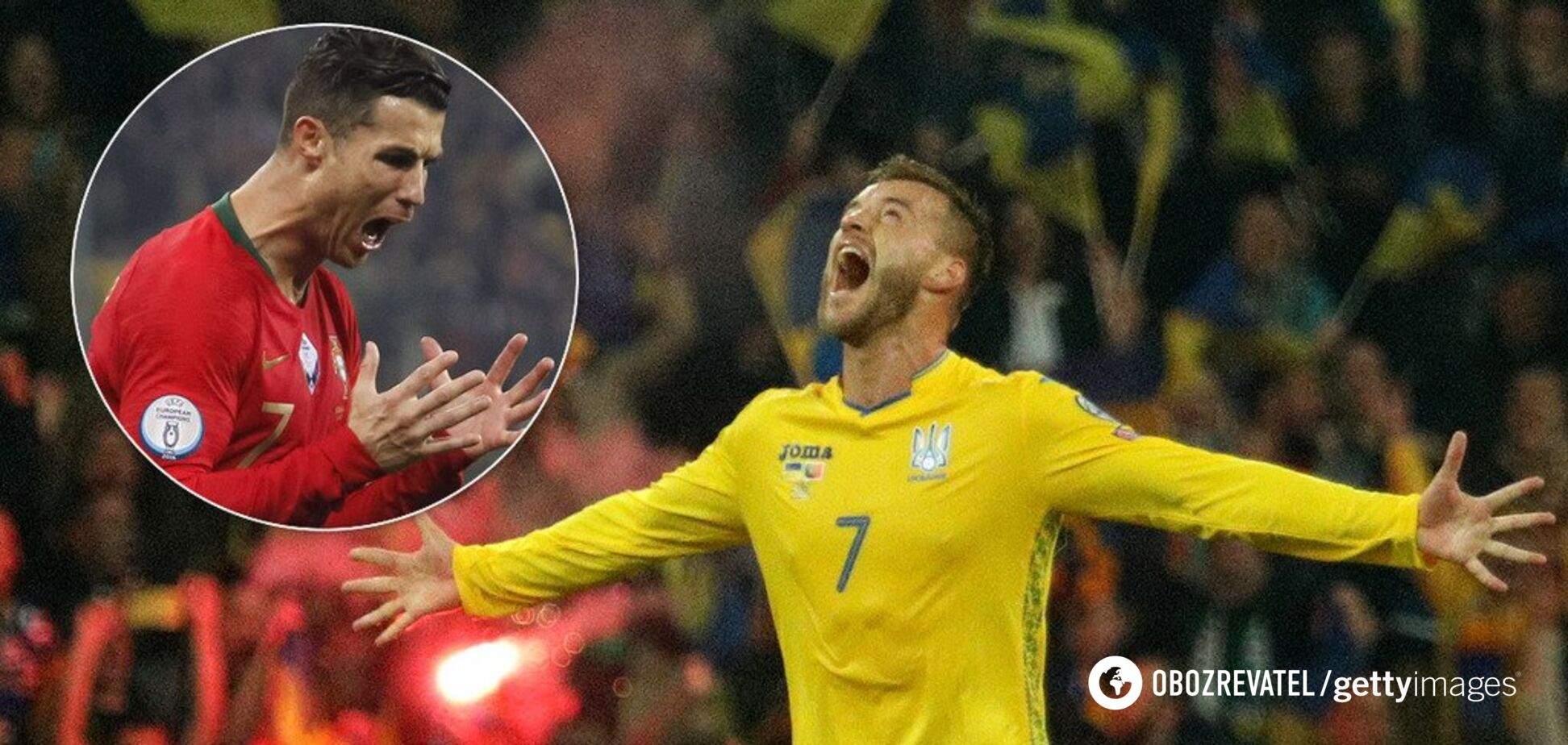Забутий подвиг і облом Роналду: 5 висновків, в які важко повірити після перемоги України над Португалією