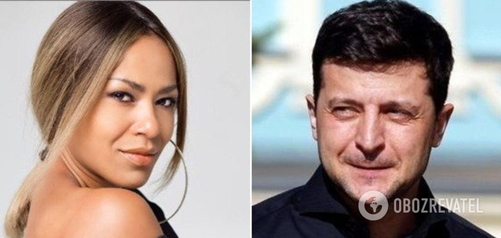 'Он иногда следит за мной': украинская певица сделала неожиданное заявление о Зеленском
